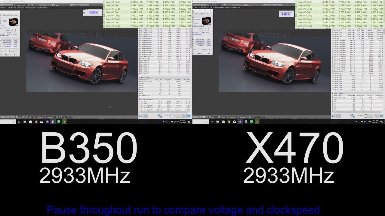 XFR 2 0 and Precision Boost 2 0- Do you really need X470? (B350 vs X470)