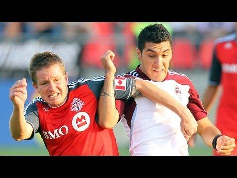 HIGHLIGHTS: Toronto FC vs Colorado Rapids, July 18, 2012