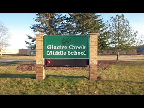 Glacier Creek Middle School Sign