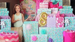 Leah's 8th Birthday Morning Opening Presents! 🍩