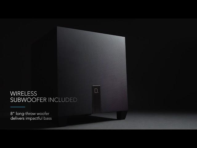 Definitive Technology — Introducing the Studio 3D Mini Sound Bar