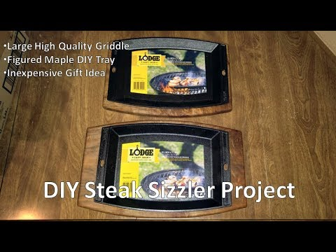 Steak Sizzler Plate Project
