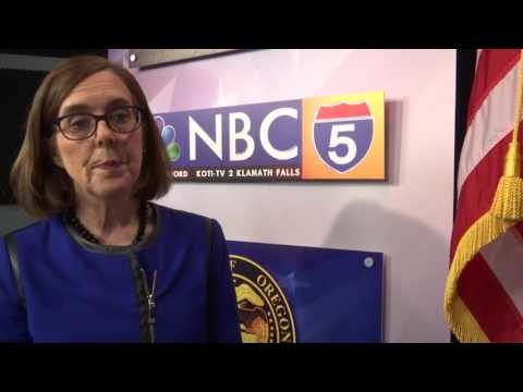 Governor Kate Brown Interview