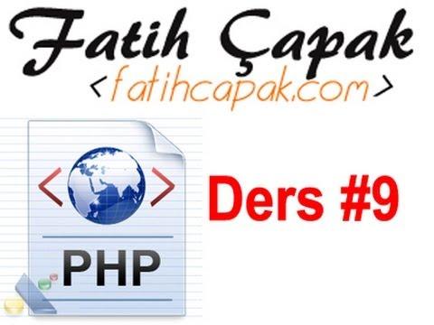 Php' de Diziler ve var_dump ile count Fonksiyonları - Ders 9