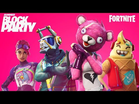 Fortnite Summer Block Party Tag 2: Promi Pro-Am - IGN Live + video