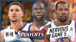 Kevin Durant, Klay Thompson & Draymond Green Game 5 Highlights vs Spurs 2018 Playoffs - CLUTCH KD!