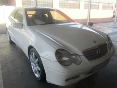 2003 mercedes benz c class c230 kompressor sports coup evolution auto for sale on auto trader. Black Bedroom Furniture Sets. Home Design Ideas