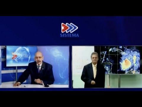 Programa Especial sobre el Huracán Matthew de la Televisión Cubana