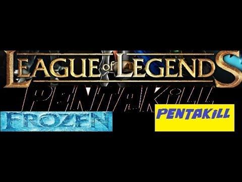 Frozen - Pentakill farò ( Parodia di League of Legends)