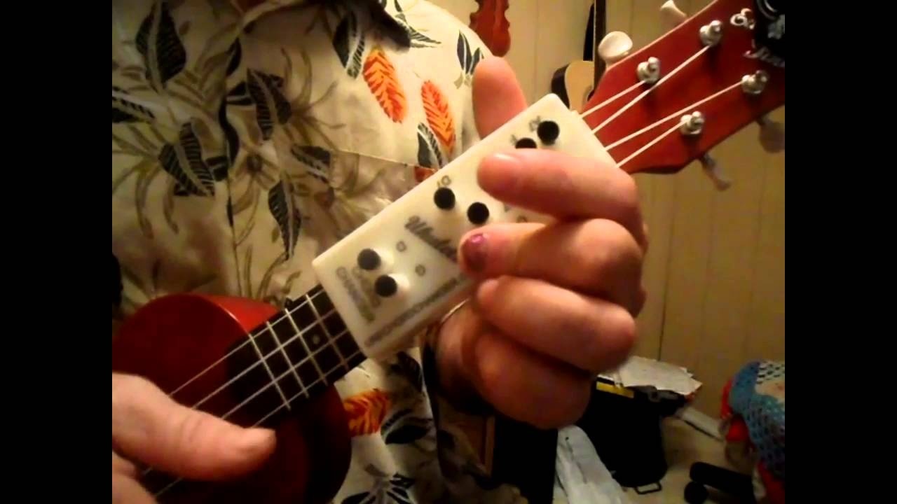 Ukulele Chord Changer How To Play When The Sun Goes Down Youtube