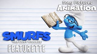 Smurfs: The Lost Village - How to Draw Brainy