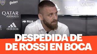 Daniele De Rossi se despide de Boca - Conferencia de prensa completa