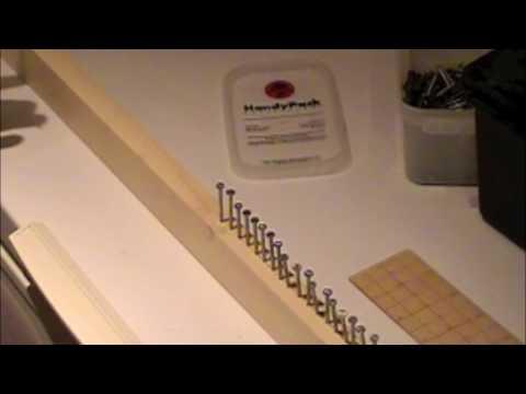 Home Made Rake Loom Youtube