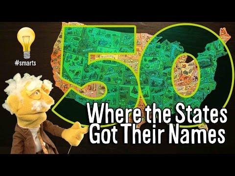 Where the States Got Their Names