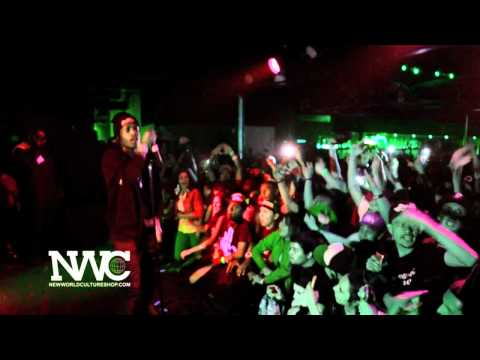 A$AP Rocky - Wassup Live @ Club Red. Tempe, AZ. / April 15th, 2012.