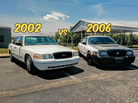 The Differences Between a 2002 and 2006 Ford Crown Victoria P71