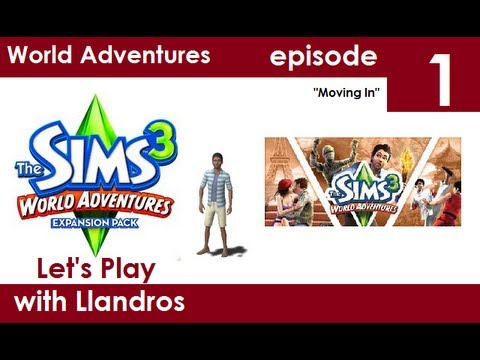Let's Play The Sims 3 World Adventures