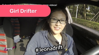 Girl Drifter Leona Chin - Vlog 2015 Zhuhai China 27th May 2015
