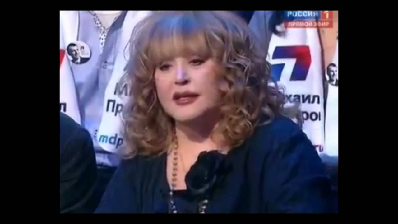 Alla Pugacheva expressed her opinion about the set point in her grandsons relationship with her lover 01.09.2014