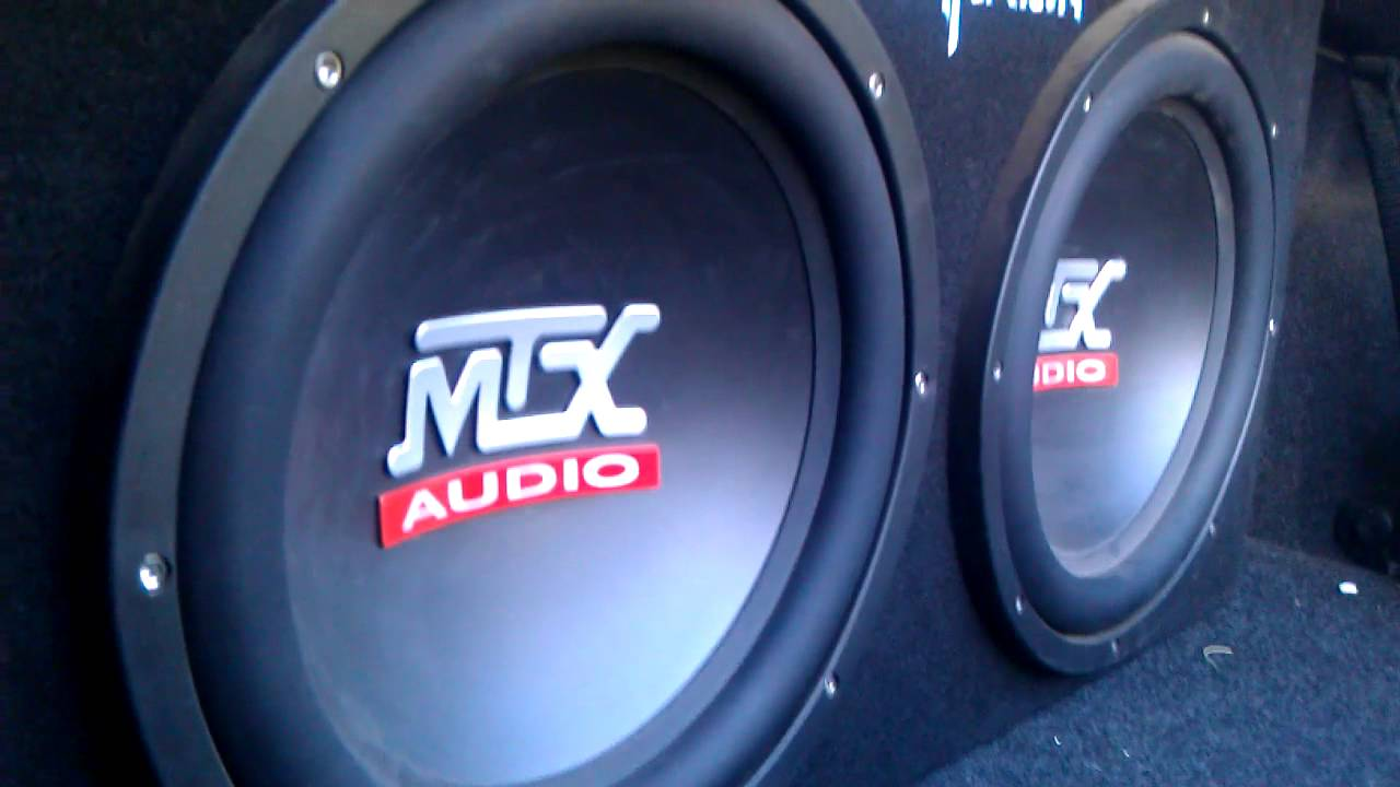 2 12 Mtx Subs Epic Bass 1200 Watts Youtube