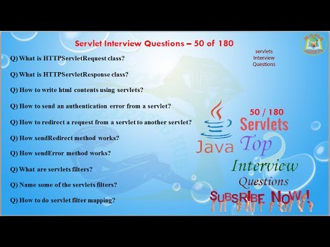 Great Servlet Interview Questions U2013 50 Out Of 180