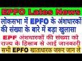 EPFO Latest News | लोकसभा में EPFO के अंशधारकों की संख्या के बारे में बड़ा खुलासा