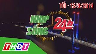 Nhịp sống 24H | Tối, 13/9/2019 - Phạt tiền, tước bằng lái nữ tài xế cản trở xe ưu tiên | THDT