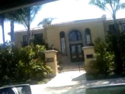 315_11 Home of ROBERT WAGNER (NATALIE WOOD), BEVERLY HILLS,STAR MAPS