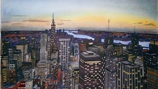 New York City Drawing (Time Lapse)