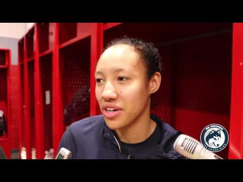 UConn Women's Basketball NCAA Tournament Postgame (Players) - Sweet 16
