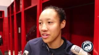 UConn Women's Basketball NCAA Tournament Postgame (Players) - Sweet 16