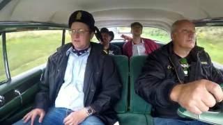 Flemming og Knudsen på vej hjem fra kro