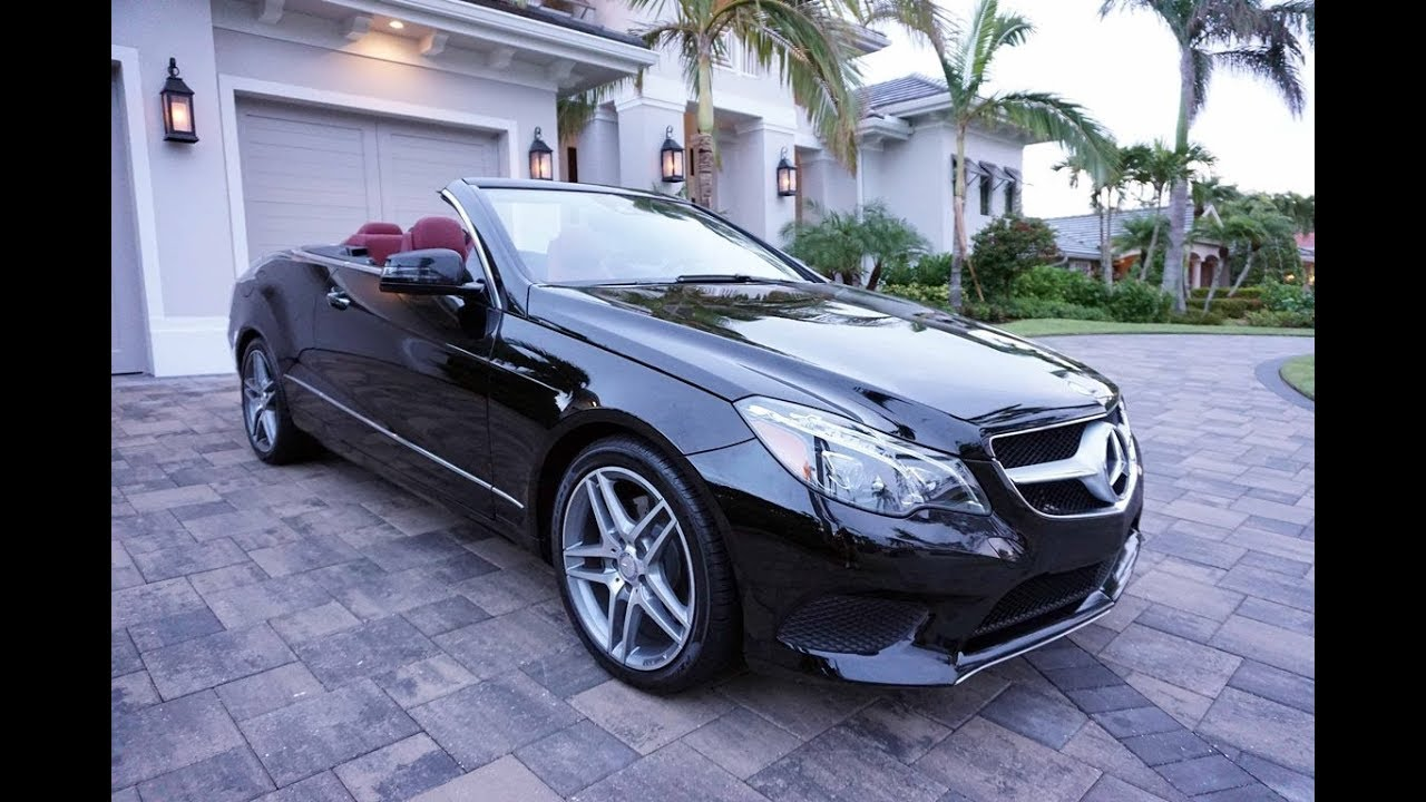 2014 mercedes benz e350 amg sport convertible review and