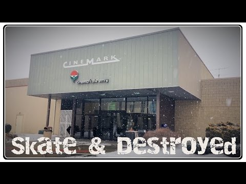 Dead Mall Carnation City Mall Alliance Ohio : Urban Exploration Series Skate & Destroyed ep 6