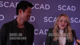 quantico s jay armstrong johnson pearl thusi david lim and johanna braddy atvfest 2017