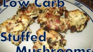 Atkins Diet Recipes: Low Carb Stuffed Mushrooms (if)
