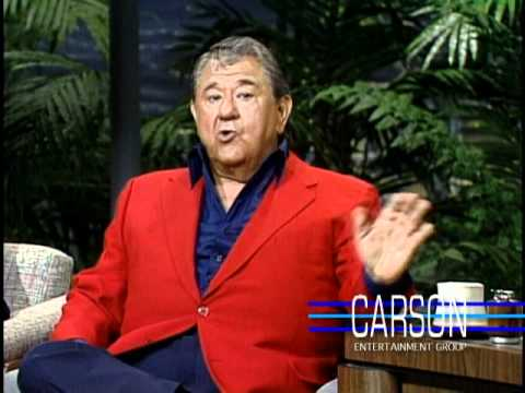 Buddy Hackett Reveals His Real Name on Johnny Carson's Tonight , 1989