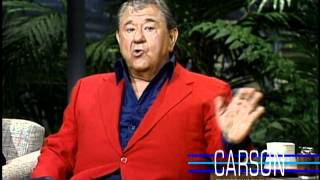 Buddy Hackett Reveals His Real Name on Johnny Carson