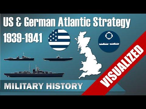 US & German Atlantic Strategy 1939-1941