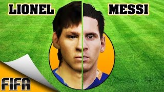 LIONEL MESSI evolution [FIFA 06 - FIFA 16] ⚽