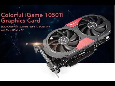 ✅Colorful iGame GTX 1050 Ti 4GB GPU - GearBest com