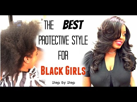 Best Protective styles for Black Girls Lace closure Sew in - Los Angeles Hairstylist