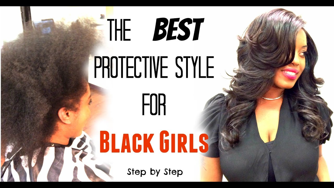 Best protective styles for black girls lace closure sew in los best protective styles for black girls lace closure sew in los angeles hairstylist youtube pmusecretfo Image collections