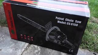 WHAT A NICE SAW!!! Professional Timberpro 62 cc Chainsaw Unboxing