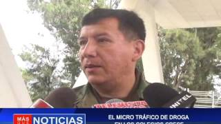EL MICRO TRAFICO DE DROGAS EN LOS COLEGIOS CRECE