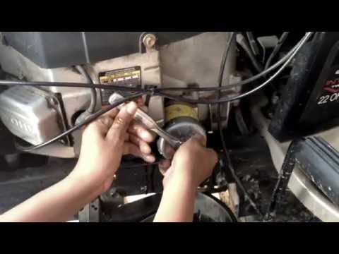 how-to-change-the-oil-and-filter-on-a-craftsman-lawn-tractor