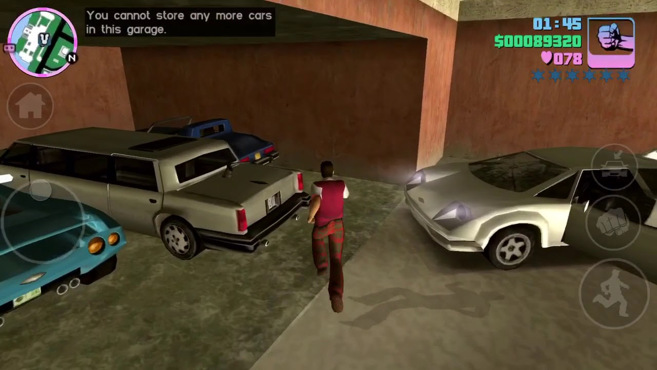 How to store more than 2 car in gta vice city Garage