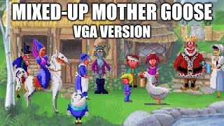 Mixed-Up Mother Goose playthrough (VGA version)