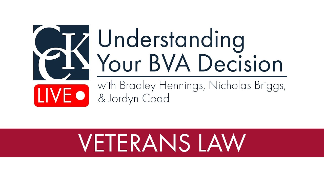 Understanding Your BVA Decision: Denials, Remands, and Grants from the  Board of Veterans Appeals