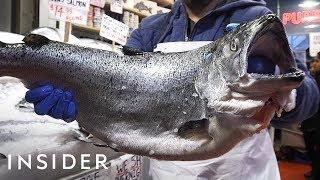Visit Seattle's Public Market For Seafood Heaven